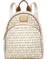 Michael Kors Michael Jet Set Item Small Studded Backpack - Lyst