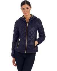 Michael Kors Packable Hooded Jacket - Lyst