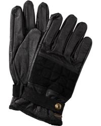 BOSS Orange - Buffalo Leather Gloves 'Genrik' - Lyst