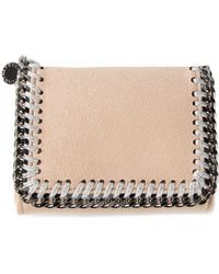 Stella McCartney Mini 'Falabella' Wallet - Lyst