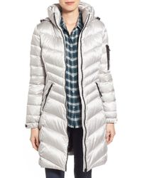 CALVIN KLEIN 205W39NYC - Hooded Down Coat - Lyst