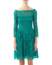 Issa Lace Long Sleeved Dress - Lyst