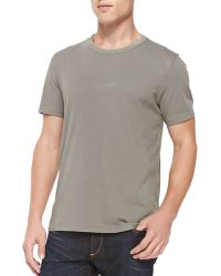 Rag & Bone Short-Sleeve Perfect Jersey Tee - Lyst