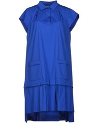 Viktor & Rolf Blue Short Dress - Lyst