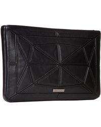 BCBGMAXAZRIA Gillian Faux Leather Patched Crossbody - Lyst
