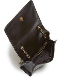 Tory Burch Shoulder Bag - Fleming Patent Medium - Lyst