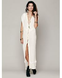 Free People Lace Inroads Maxi - Lyst