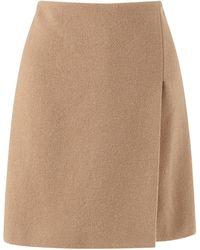 Jigsaw - Wool Wrap Skirt - Lyst