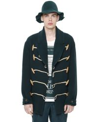 Burberry Prorsum - Wool Cashmere Blend Duffle Coat - Lyst