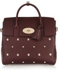 Mulberry - + Cara Delevingne Medium Studded Leather Backpack - Lyst