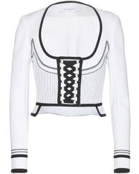 Givenchy Structured Lace-Up Jacket - Lyst