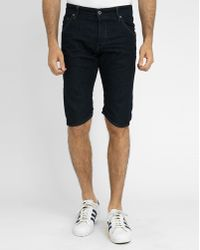 G-Star RAW Dark Denim Arc 3D Bermuda Shorts blue - Lyst