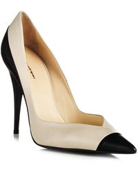 Narciso Rodriguez Two Tone Pump - Lyst