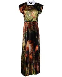 JC de Castelbajac Long Dress - Lyst