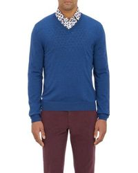 Etro V-Neck Sweater - Lyst
