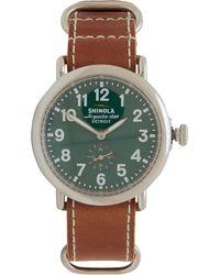 Shinola - 47mm Runwell Chronograph Men's Watch - Lyst