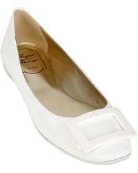 Roger Vivier 10mm Gommette Patent Ballerina - Lyst