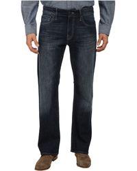 Mavi Jeans Josh Regular Rise Bootcut in Deep Used Yaletown - Lyst