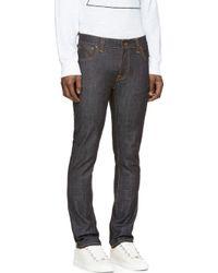 Nudie Jeans Indigo Thin Finn Jeans - Lyst
