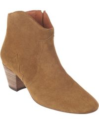 Isabel Marant Dicker Boots Brown - Lyst