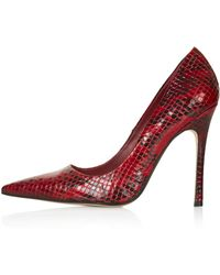 Topshop Gallop Court Shoes - Lyst