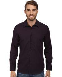 Calvin Klein Yarn-dyed Dobby Woven Shirt - Lyst