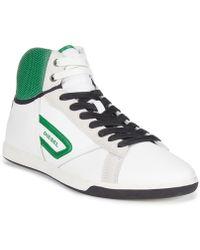 Diesel Eastcop Grantor Hi-Top Sneakers - Lyst