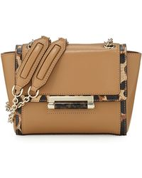 Diane Von Furstenberg 440 Mini Leather Shoulder Bag - Lyst