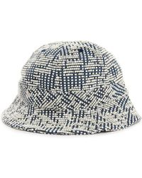Norse Projects Wool White Relief Bucket Hat - Lyst