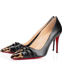 Christian Louboutin Front Double - Lyst