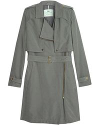 Day Birger Et Mikkelsen Go Zip Trench Coat - Lyst