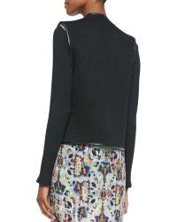 Waverly Grey - Rocha Knit Two-Button Wrap Vest - Lyst