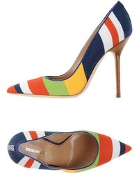 DSquared² Pump blue - Lyst