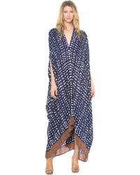 Rodebjer - Drop Print Caftan Maxi Dress - Lyst