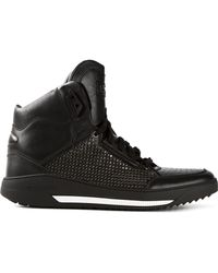 DSquared2 Studded Hitop Sneakers - Lyst