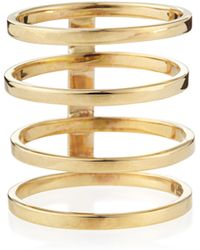 Lana Jewelry 14K Gold Gladiator Multi-Band Ring - Lyst