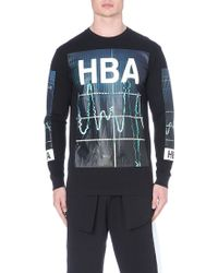 Hood By Air Colour Monitor Long Sleeved T-shirt - Lyst