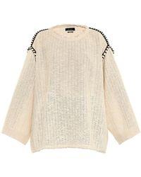 Isabel Marant Elmy Oversized Sweater - Lyst