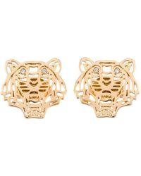KENZO - 'tiger' Earrings - Lyst