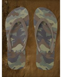 Denim & Supply Ralph Lauren - Camo Flip-flop - Lyst