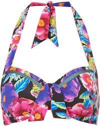 Seafolly Paradiso Soft Cup Halter Bikini Top - Lyst
