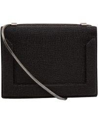 3.1 Phillip Lim Mini Black Soleil Chain Bag - Lyst