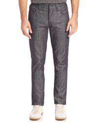 Nudie Jeans   Grim Tim Slim-straight Jeans   Lyst