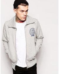 Diesel Gray Cotton Sweatshirt - Lyst