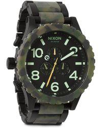 Nixon 5130 Chrono Analog Watch - Lyst