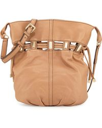 Kooba Echo Drawstring Bucket Bag brown - Lyst