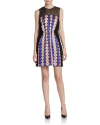 Twelfth Street by Cynthia Vincent Sleeveless Cinchedwaist Dress - Lyst