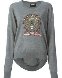 Markus Lupfer Ferris Wheel Embellished Sweater - Lyst