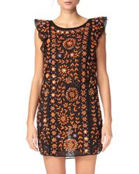 Antik Batik Pencil Dress - Barbade1Dre orange - Lyst