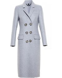 Burberry Prorsum Double Cashmere Topcoat - Lyst